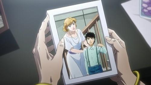 ジョジョ アニメ 第三部 第24話 ホリィと承太郎の写真