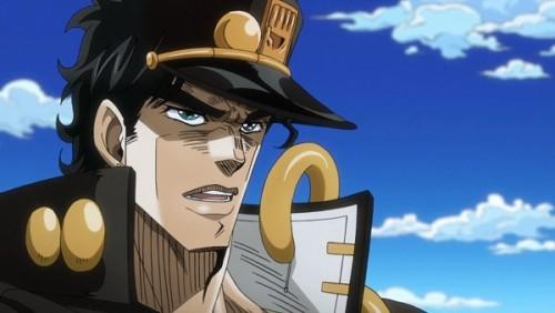 ジョジョ アニメ 第三部 第25話 承太郎「どっちの男だ?スタンド使いは?」