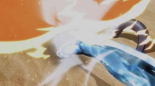 ジョジョ アニメ 第三部 第26話 マジシャンズレッドを躱すゲブ神