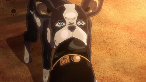 ジョジョ アニメ 第三部 第26話 帽子を拾ってきたイギー