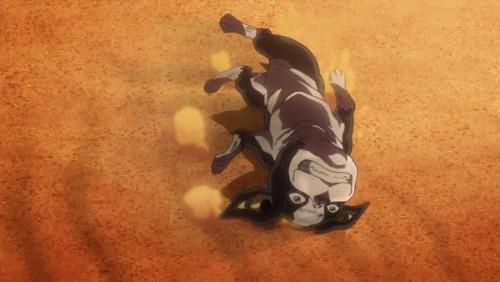 ジョジョ アニメ 第三部 第26話 駄々をこねるイギー