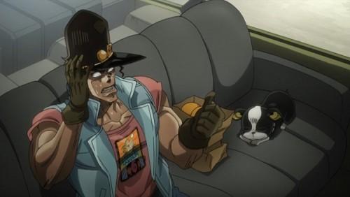 ジョジョ アニメ 第三部 第27話 オインゴ 「イギーが拾ったオレンジ」