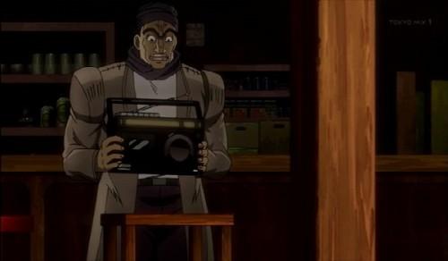 ジョジョ アニメ 第三部 第30話 店の親父とラジオ