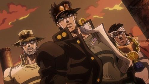 ジョジョ アニメ 第三部 第28話 ポルナレフを探してた一行