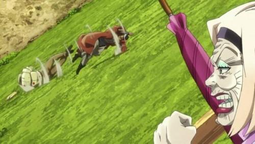 ジョジョ アニメ 第三部 第31話 転げ落ちていく二人