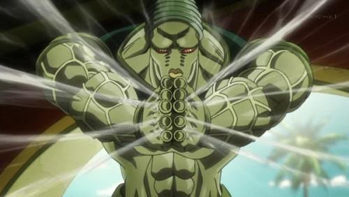 ジョジョ アニメ 第三部 第34話 魂チップを作るオシリス神