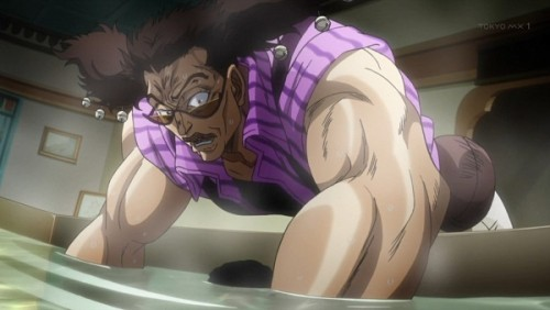 ジョジョ アニメ 第三部 第33話 腕にウンコがついたアレッシー