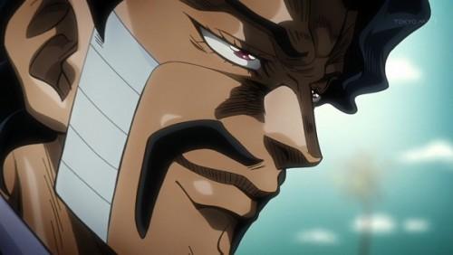 ジョジョ アニメ 第三部 第35話 ダービー 「ゲドゲドの恐怖面に」