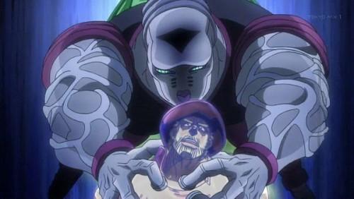ジョジョ アニメ 第三部 第34話 魂を抜かれるジョセフ