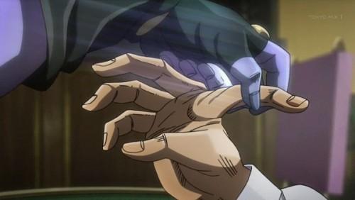 ジョジョ アニメ 第三部 第35話 指を折られるダービー