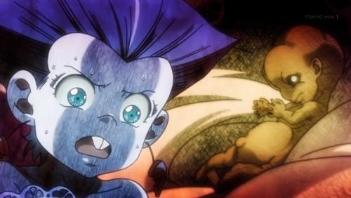 ジョジョ アニメ 第三部 第33話 胎児を抱えるポルナレフ