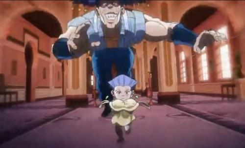 ジョジョ アニメ 第三部 第33話 アレッシーから逃げるポルナレフ