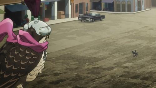 ジョジョ アニメ 第三部 第38話 ペット・ショップの視線の先