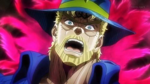 ジョジョ アニメ 第三部 第39話 気付くジョセフ