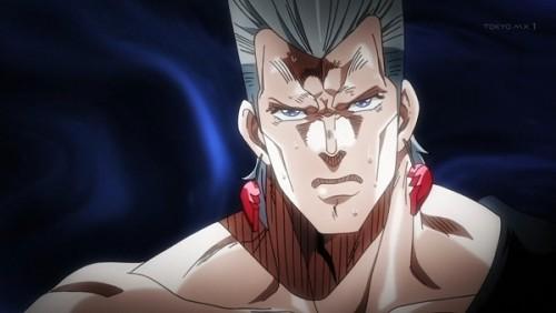 ジョジョ アニメ 第三部 第39話 ポルナレフの決意