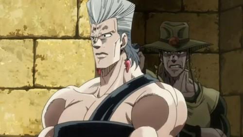 ジョジョ アニメ 第三部 第37話 隠れるホル・ホース