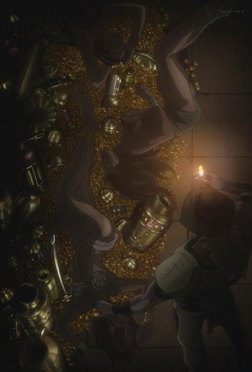 ジョジョ アニメ 第三部 第36話 DIOの食料の吸いカス