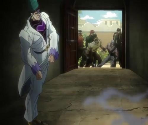 ジョジョ アニメ 第三部 第39話 テレンス登場