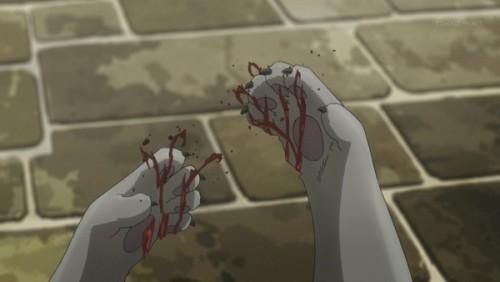 ジョジョ アニメ 第三部 第38話 足を怪我したイギー