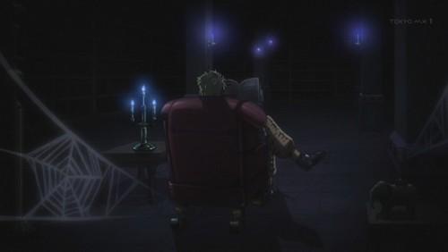 ジョジョ アニメ 第三部 第36話 椅子に座るDIO
