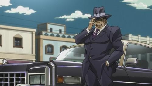 ジョジョ アニメ 第三部 第38話 ビジネスマンになった物乞い