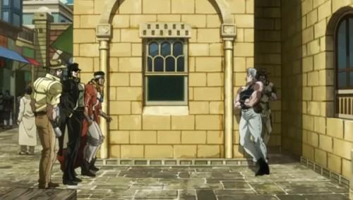 ジョジョ アニメ 第三部 第37話 シーーーーン