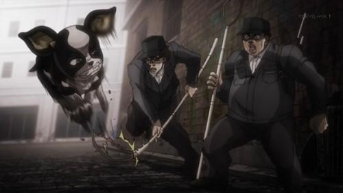 ジョジョ アニメ 第三部 第39話 イギーを捕まえようとするSPW財団