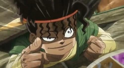 ジョジョ アニメ 第三部 第37話 テンションの上がったボインゴ