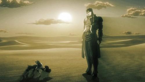 ジョジョ アニメ 第三部 第39話 イギーと承太郎