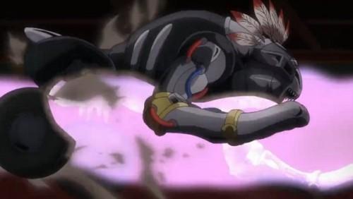 ジョジョ アニメ 第三部 第43話 ザ・フールを貫通するクリーム