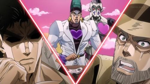 ジョジョ アニメ 第三部 第42話 「細工ではないのか」