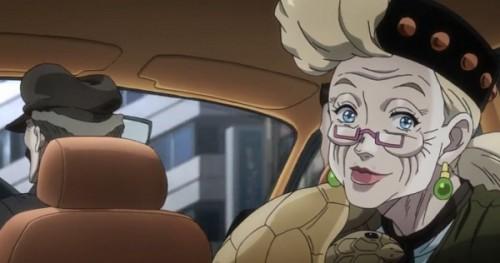 ジョジョ アニメ 第三部 第44話 スージーQ 登場