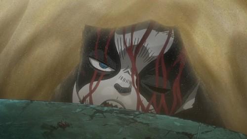 ジョジョ アニメ 第三部 第44話 ヴァニラ・アイスを見つめるイギー