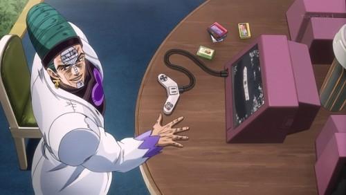 ジョジョ アニメ 第三部 第40話 デーム対戦を持ちかけるテレンス