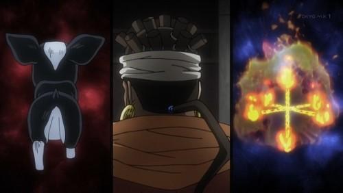 ジョジョ アニメ 第三部 第42話 炎にもイギーにも異常なし