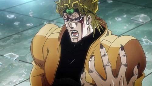 ジョジョ アニメ 第三部 第47話 CAに例えるDIO