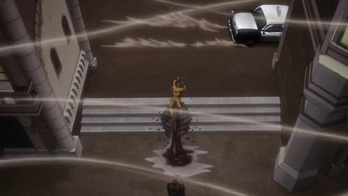 ジョジョ アニメ 第三部 第47話 必死に逃げるDIO
