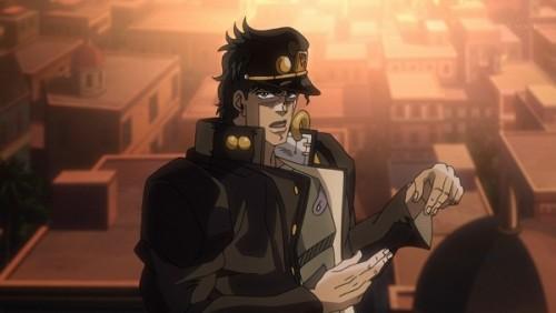 ジョジョ アニメ 第三部 第45話 「ハサミ討ちの形になるな」