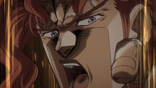 ジョジョ アニメ 第三部 第46話 「くらえッ!DIOッ!半径20mエメラルドスプラッシュをーーーーッ!」
