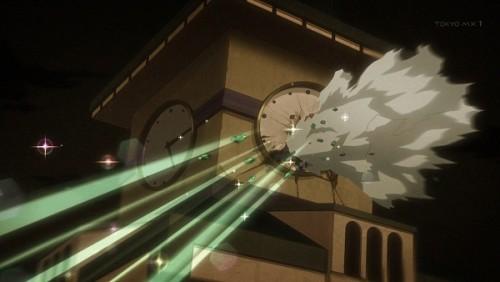 ジョジョ アニメ 第三部 第46話 時計の針を破壊…時を止める…