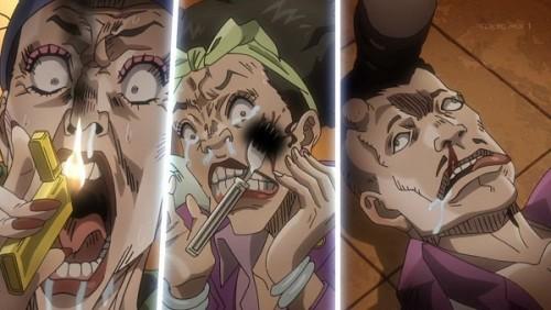 ジョジョ アニメ 第三部 第46話 「きゃああああああ」