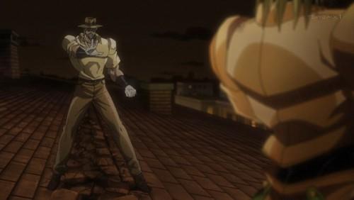 ジョジョ アニメ 第三部 第46話 特徴をつかんだジョセフ