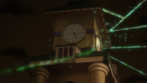 ジョジョ アニメ 第三部 第46話 時計をみる花京院