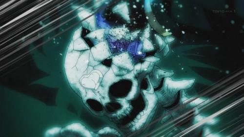 ジョジョ アニメ 第三部 第47話 DIOの頭蓋骨粉砕