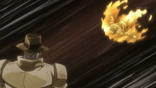 ジョジョ アニメ 第三部 第46話 「ジョセフ・ジョースター!死ねィ!」