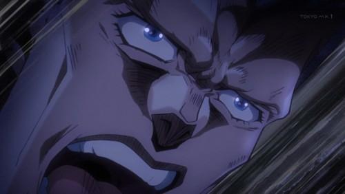 ジョジョ アニメ 第三部 第45話 「それが「世界」かッ!こいーーっ」
