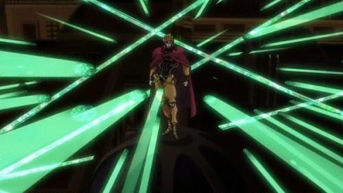 ジョジョ アニメ 第三部 第46話 エメスプに囲まれるDIO