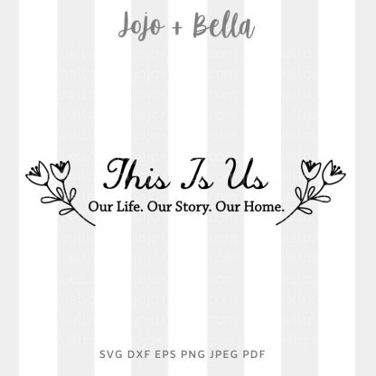 This Is Us Svg - easter cut file for cricut and silhouette