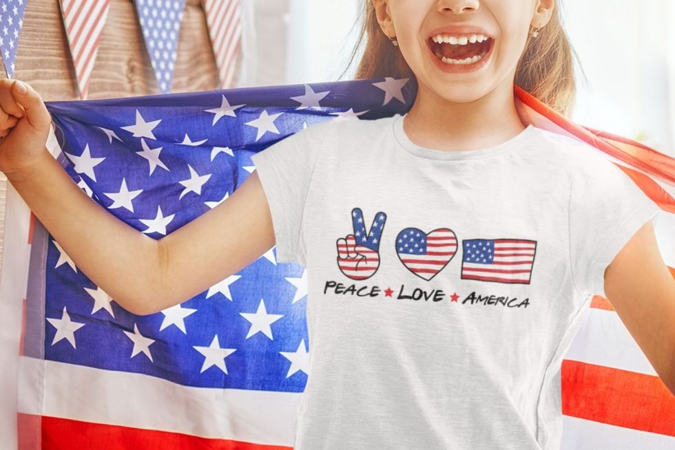 peace love america svg png and printable for sublimation and cutting machines