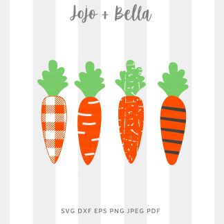 carrot svg png for cricut, silhouette and sublimation